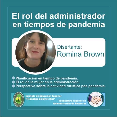 Charla sobre el rol del administrador en tiempos de pandemia